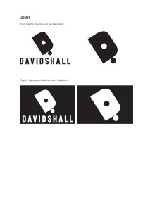 Davidshallarnas egen grafiska profil