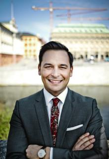 Andreas Hatzigeorgiou utsedd till ny vd för Stockholms Handelskammare