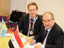Bagdads universitet skriver avtal med LTU