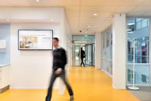 Cygate utrustar Swedbanks bankkontor med digital skyltning