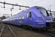 Västtrafik hyr lila tåg från Skåne