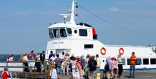 Bokbåt till Sigtuna Litteraturfestival