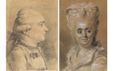 Nyförvärv: två porträtteckningar från 1700-talet