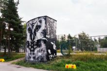 Turun kolmannen UPEA17-teoksen maalaus alkoi