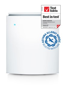 "Blueair Classic 405 ""Best in test"" again in independent testing of air purifiers"