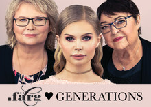 .FÄRG loves generations - kampanj för mature beauty