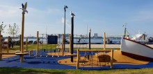 Kalundborg Havnepark's nye maritime legeplads