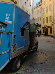 Vi söker en chaufför till Stockholm