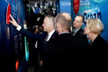 Den amerikanske ambassadør støtter kampen mod plastikforurening