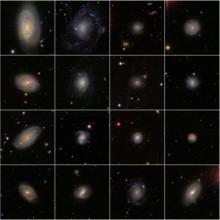 Universum bildar gärna galaxer som Vintergatan