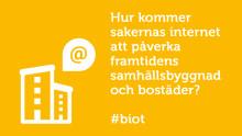 Panelsamtal i Almedalen: Hur kommer sakernas internet att påverka framtidens samhällsbyggnad och bostäder?