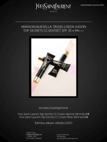 Yves Saint Laurent Top Secrets CC voide