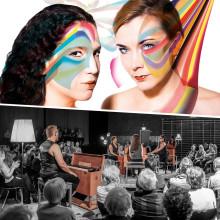 Två originella musikupplevelser när Marja-Liisa Orgelsuite och Duo Naranjo-Weurlander besöker Kulturens hus i höst!
