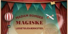 MAGISK LEGETØJ OG LOPPER PÅ FREDERIKSSUND MUSEUM, FÆRGEGÅRDEN