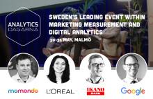 Sveriges ledande event inom mätning och digital analys kommer till Malmö!
