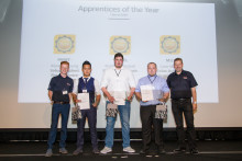 Spotlight on apprentice success at Thatcham Research graduation ceremony