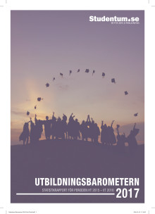 UtbildningsBarometern 2017 - Studentums statistikrapport för perioden HT 2016-VT 2016