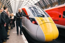 Virgin Trains Azuma Visits Sunderland and Lincoln