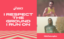 ASICS satsar på återbruk och återvinning – lämna dina gamla löparprylar på ASICS Stockholm Marathon och få 20 % rabatt