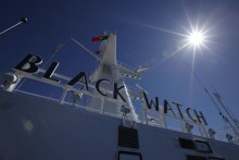 Fred. Olsen Cruise Lines returns to Belfast in 2015 with Black Watch
