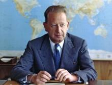 Föreläsning 10/10: Livsverk eller livshållning – hur minns vi Dag Hammarskjöld?