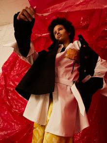 Nordiska modemärken tolkade av Beckmansstudenter idag på Fashion Week