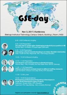 Program för Global Softare Engineering day