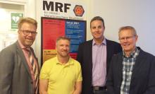Autoexperten Sverige AB och KG Knutsson Verkstad AB blir medlemmar i MRF