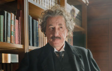 "Oscarvinder Geoffrey Rush spiller Albert Einstein i National Geographics nye tv-serie ""Genius"""
