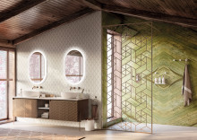 POMD`OR and Rosenthal present new bathroom collection Equilibrium in Milan