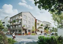 Nu påbörjas arbetet med att bygga västra Vilunda i Väsby