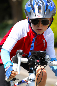 Jack takes on Bike Challenge to raise money for Children's Cancer Centre Appeal