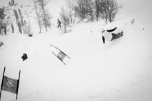 SNOWBOARD: CREPEL (FR) VANT FØRSTE BANG SLALOM