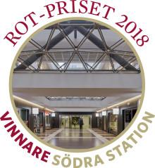 Södra station vinner ROT-priset 2018