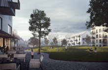 Liljewall vinner parallella uppdrag för Östermalms Park i Kristianstad
