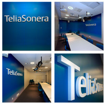 TeliaSoneras nya image på Stureplan