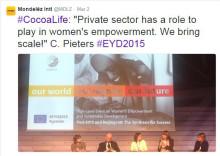 Ökat fokus på jämställdhet inom kakaosektorn