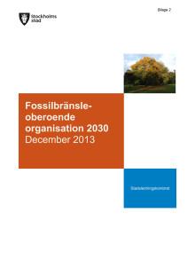 fossiloberoende organisation 2030