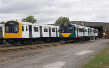 Vivarail class 230 trains delayed