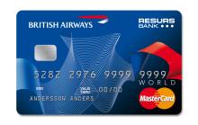 British Airways väljer Resurs Bank för att lansera BRITISH AIRWAYS WORLD MASTERCARD i Danmark