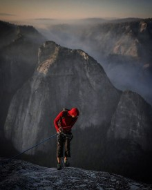 Oscarsnominerade Free Solo visas på National Geographic den 9 mars