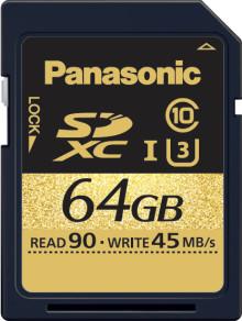 Panasonic Announces SDXC/SDHC UHS-I Card