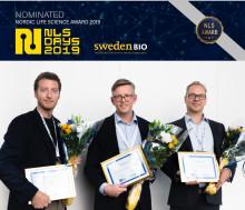 Tio nominerade till Nordic Life Science Award 2019