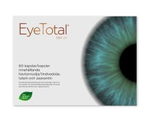 Nytt kosttillskott inom området ögonhälsa - Eye Total