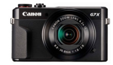 Canon lanserar ny kraftfull duo – Canon PowerShot G7 X Mark II med DIGIC 7-processor