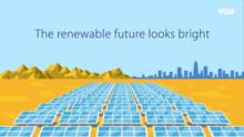 Visa atteint son objectif d'utiliser une électricité produite à 100% par des énergies renouvelables