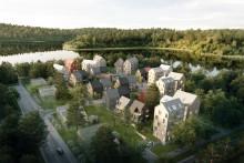 Liljewall och Derome vinner markanvisningstävling i Torparängen, Växjö