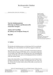 Juristische Einschätzung von Dr. Roda Verheyen