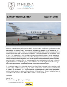 Airport Safety Newsletter Issue 2