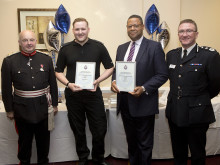 BT wins Greater Manchester Police award in recognition of its support for local policing
